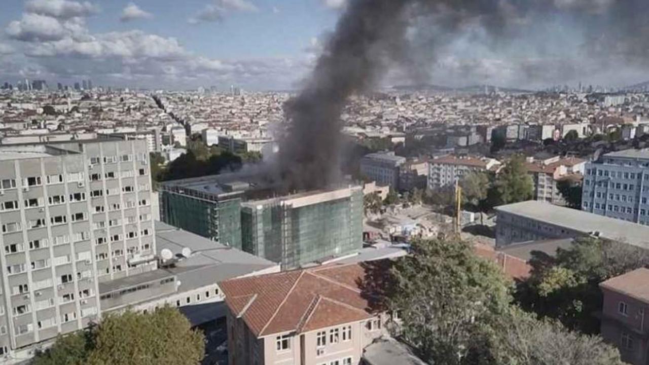 İstanbul Tıp Fakültesi'nde yangın paniği