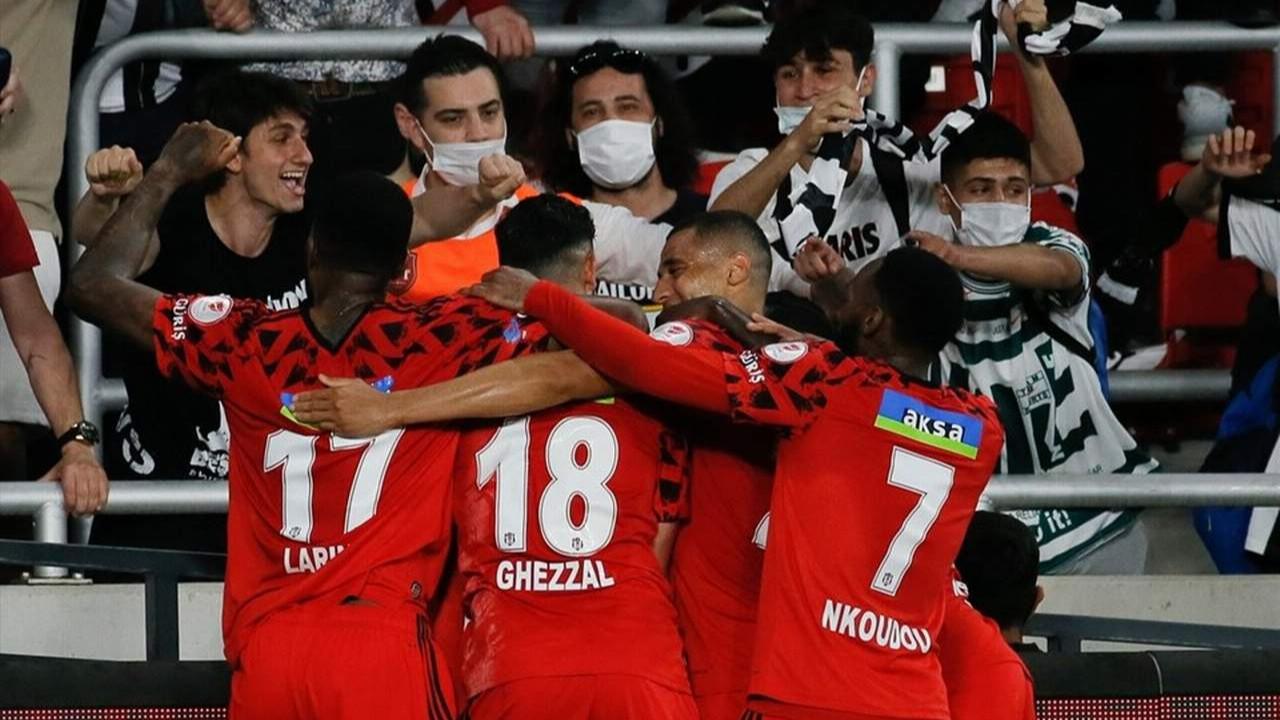 Ziraat Türkiye Kupası da Beşiktaş'ın oldu!