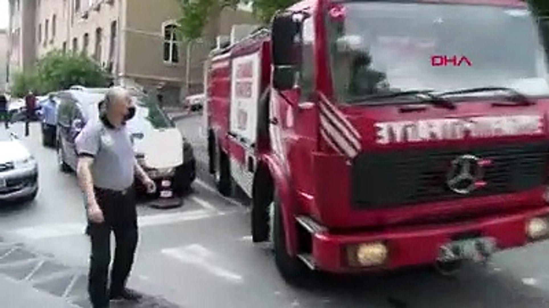 İstanbul Üniversitesi Tıp Fakültesi'nde yangın
