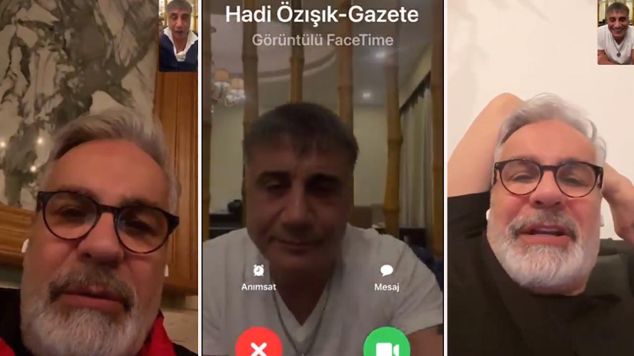 Sedat Peker, Hadi Özışık'la olan görüşmesinin videosunu yayınladı