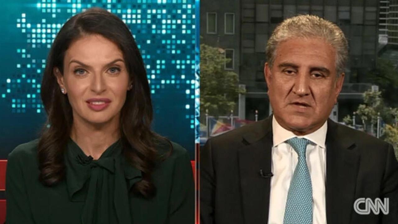 CNN'de sunucu ve Pakistanlı Bakan arasında gergin anlar