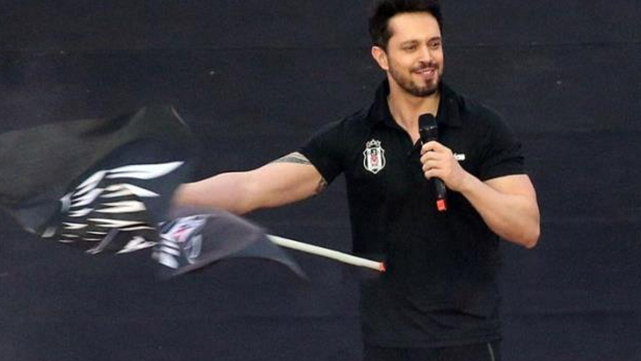 Şampiyonluk kutlamasında Murat Boz'un başına gelmeyen kalmadı
