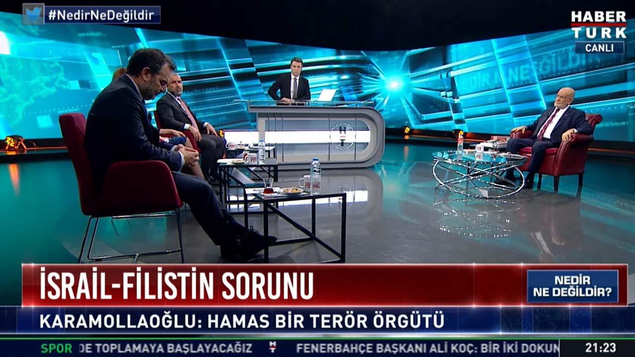 Habertürk canlı yayınında skandal hata: Karamollaoğlu panikledi