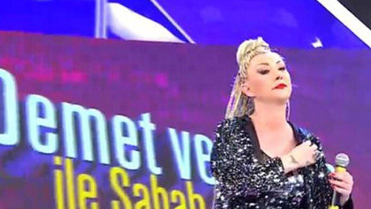 Şarkıcı Güllü canlı yayında isyan etti