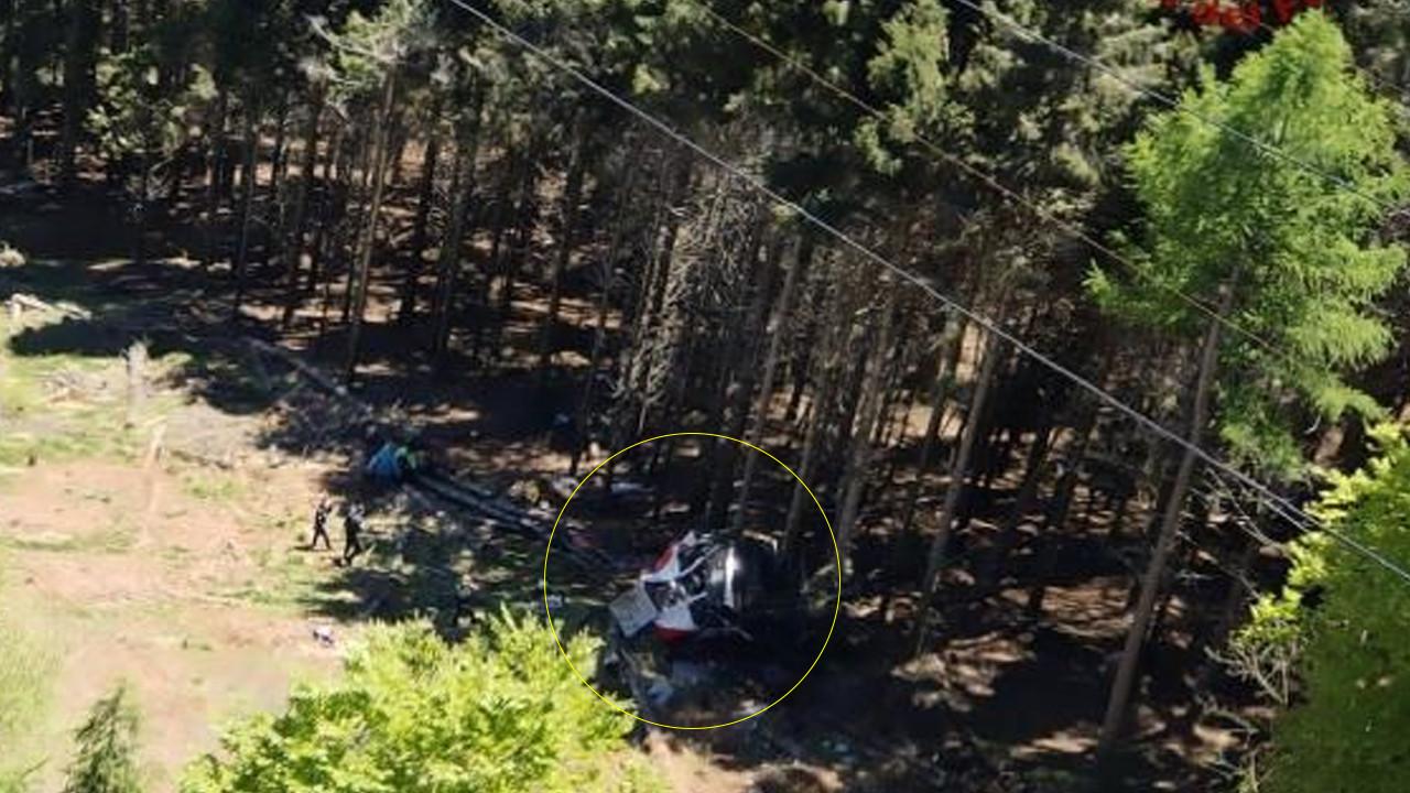 Teleferik 1500 metreden yere çakıldı: Çok sayıda ölü var