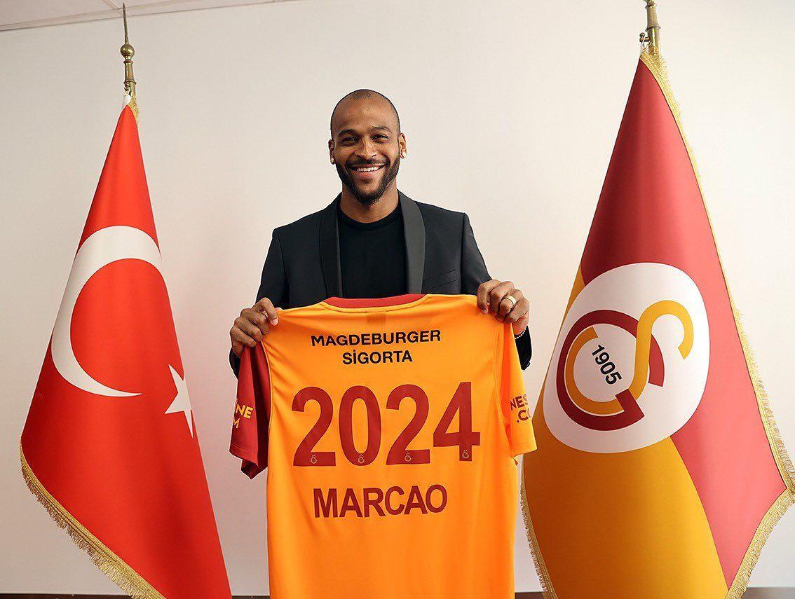 Galatasaray'da Marcao'dan 3 yıllık imza