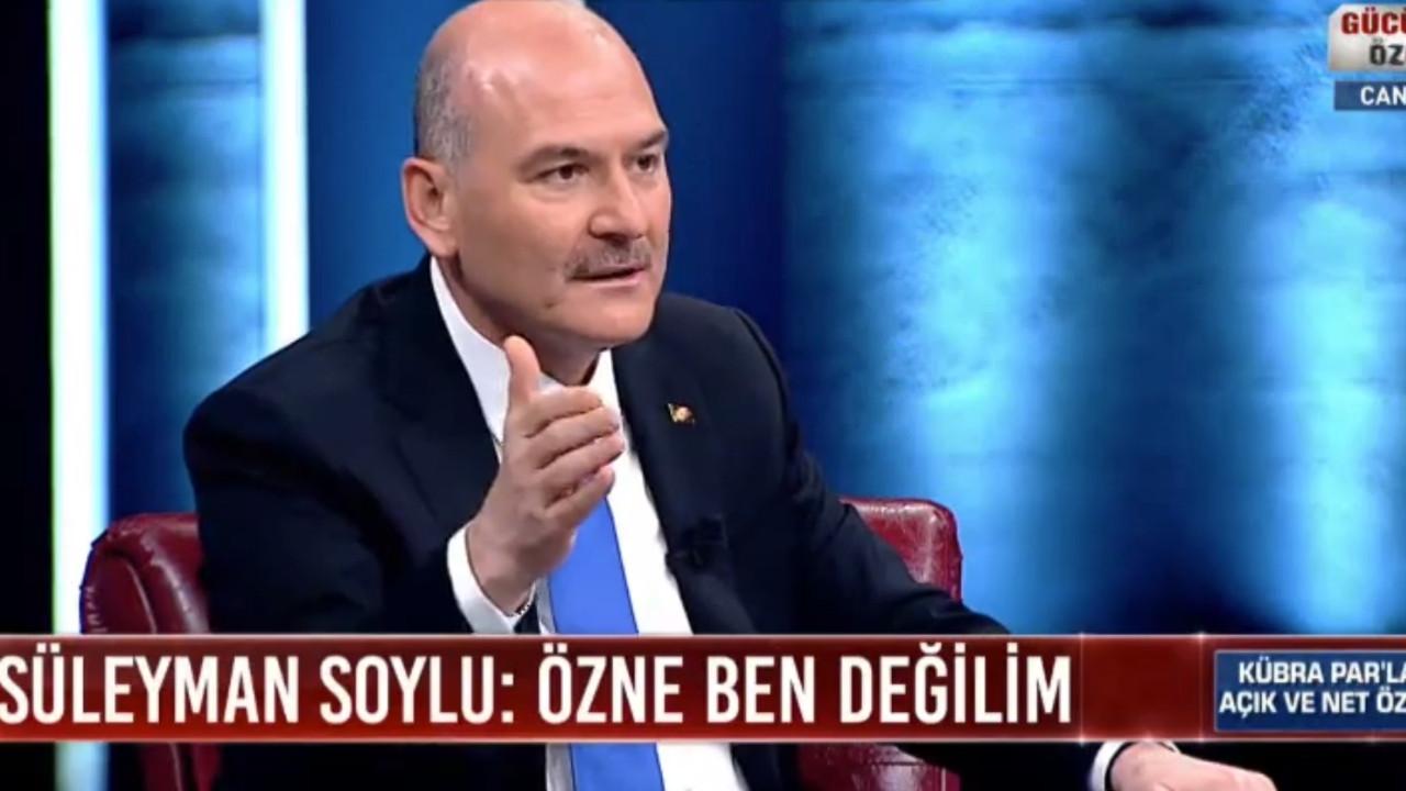 Soylu: ''Sedat Peker bir kıza tecavüz etmiş''