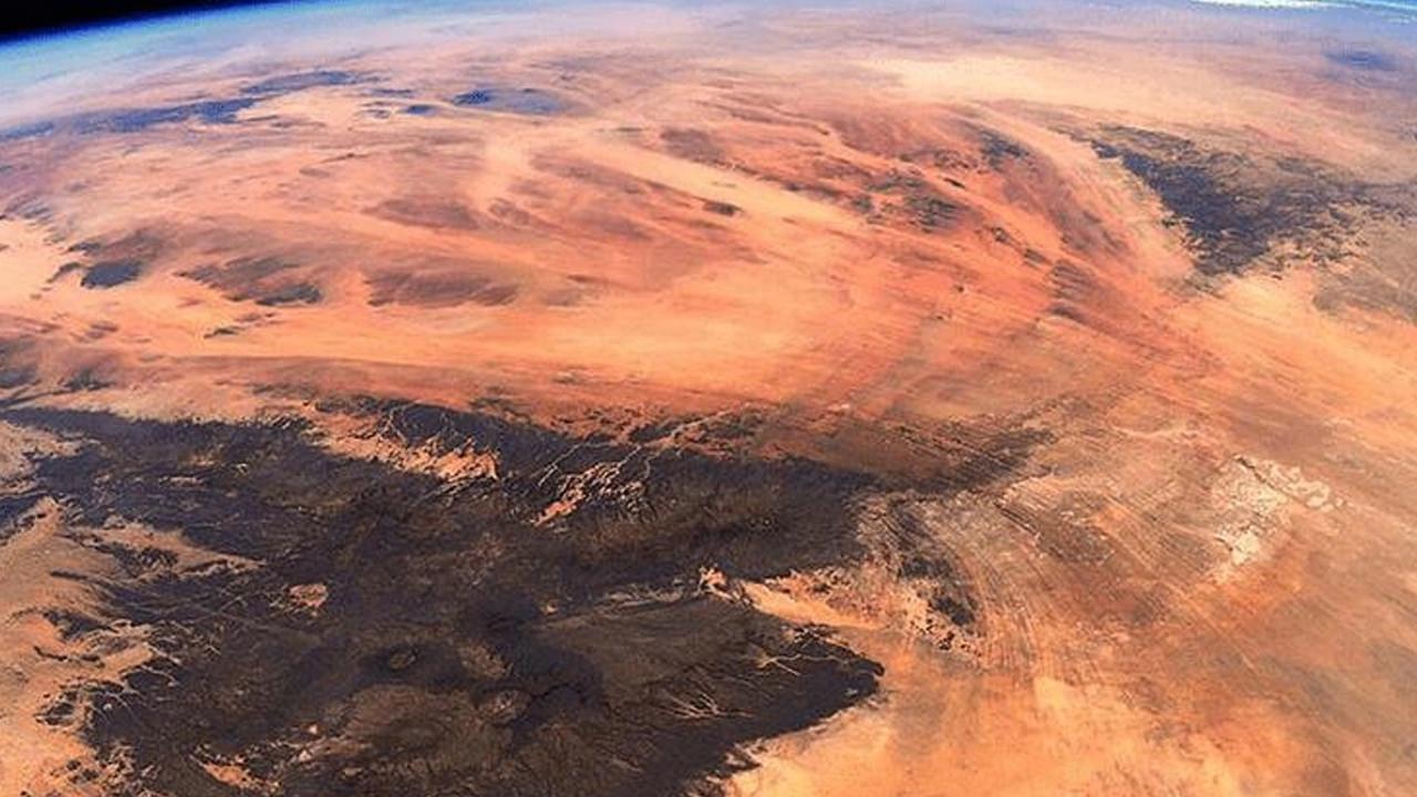 Fransız astronot paylaştı: İşte Dünya'daki Mars