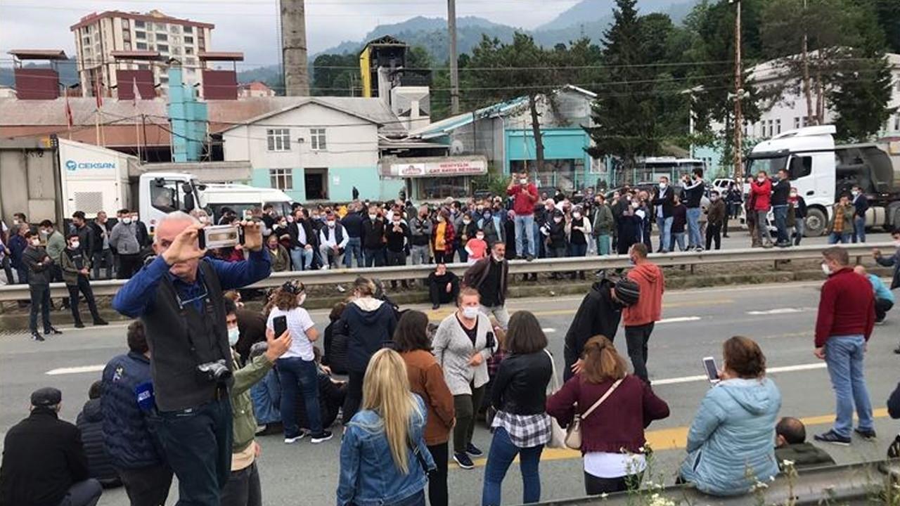Erdoğan'ın açıklaması sonrası tepkiler büyüyor: Yolu kapattılar