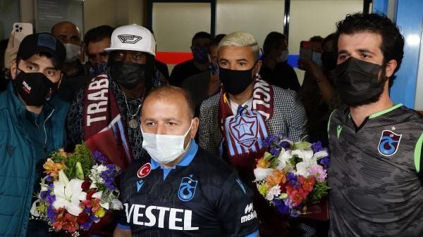 Trabzonspor ilk transfer bombasını patlattı - İki isim Trabzon'a geldi