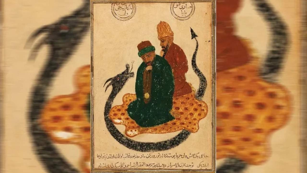 Hacı Bektaş-ı Veli'nin bilinen en eski resmi satışta