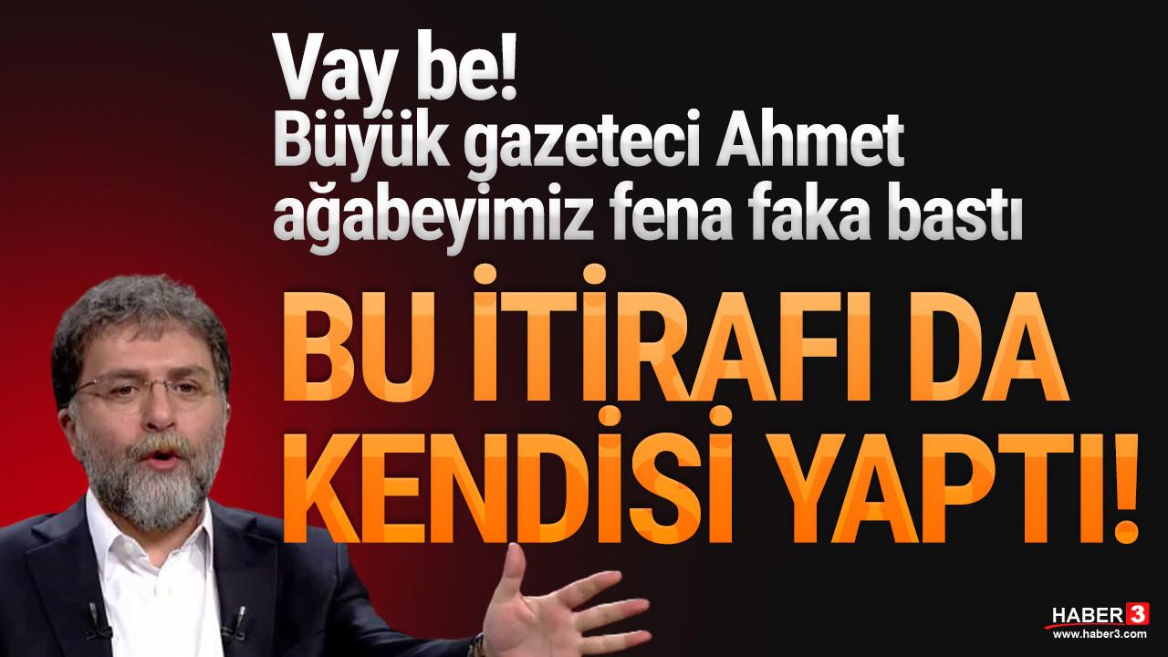 Ahmet Hakan kendisi itiraf etti; tüm ''iddiaları'' çöpe gitti