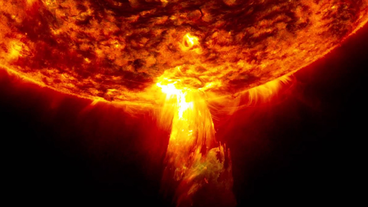 Güneş'te büyük patlama