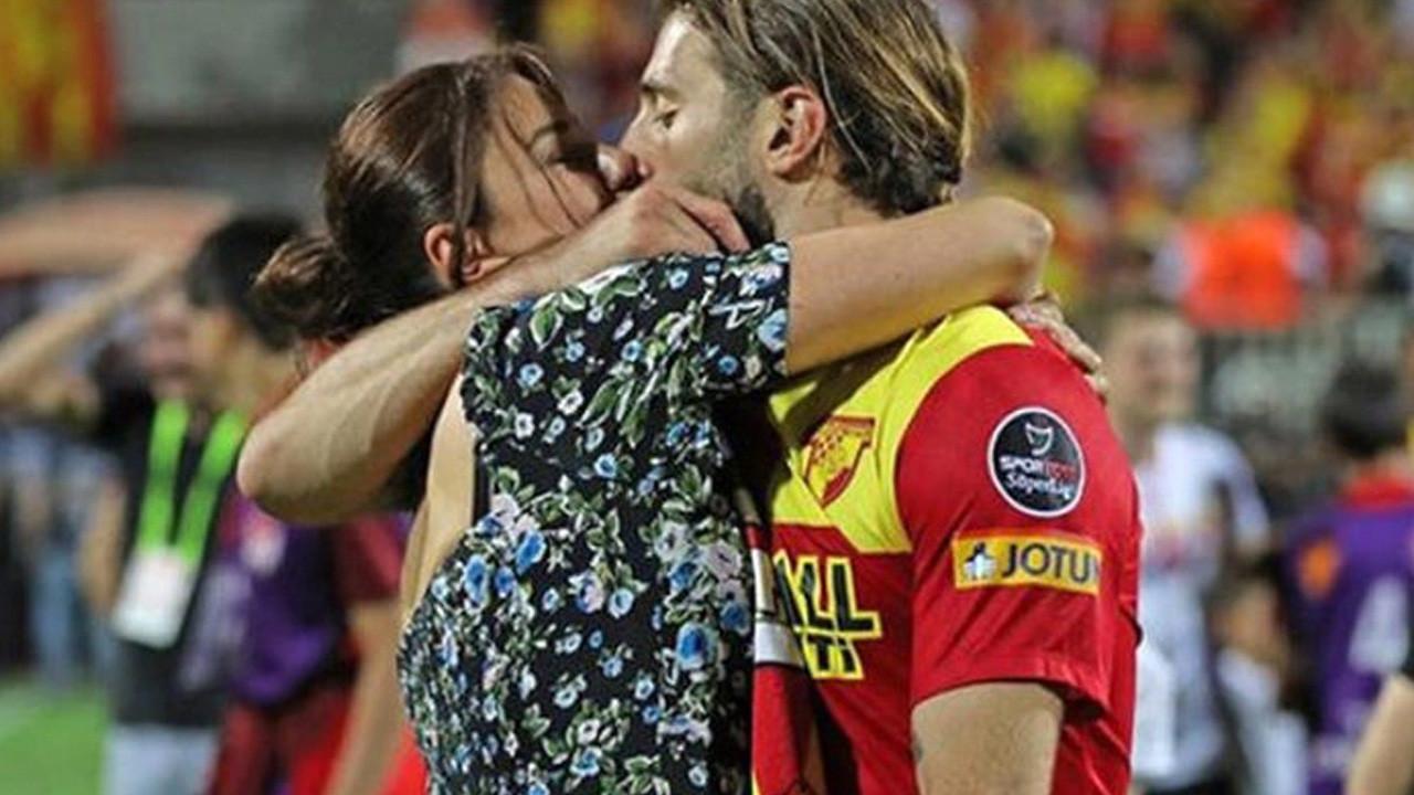 Ebru Şancı aşka geldi: Eşi Alpaslan Öztürk'ü öpücüklere boğdu