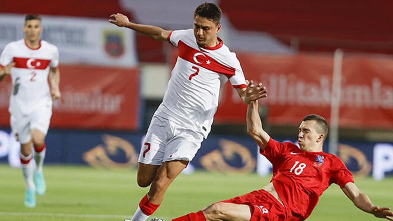 Türkiye - Azerbaycan maçından kareler