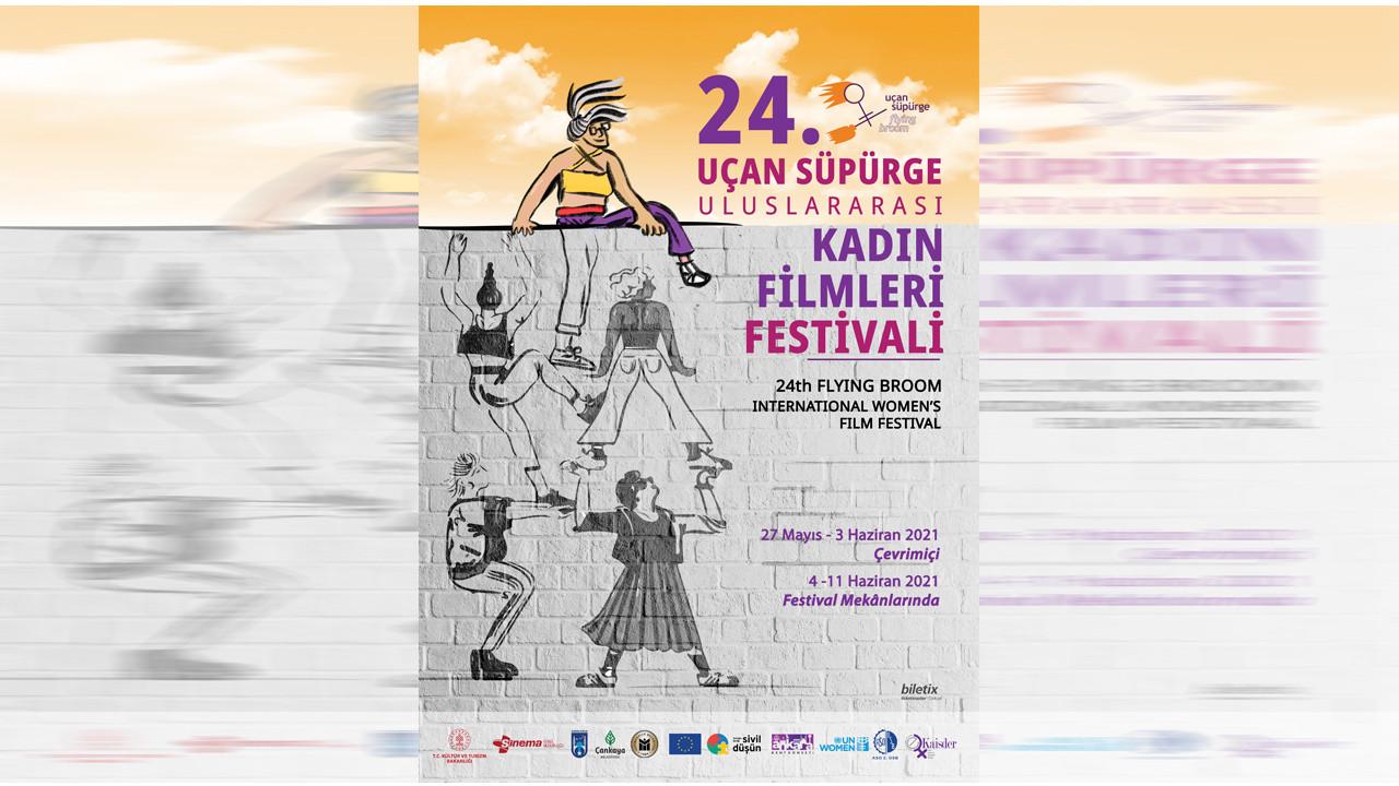 Uçan Süpürge Uluslararası Kadın Filmleri Festivali'nde çevrimiçi gösterimler başladı