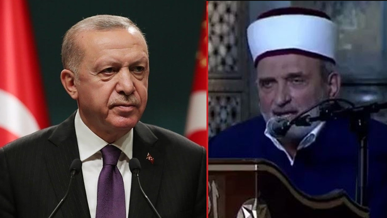 Erdoğan'ın gözü önünde oldu... Atatürk'e lanet okudu