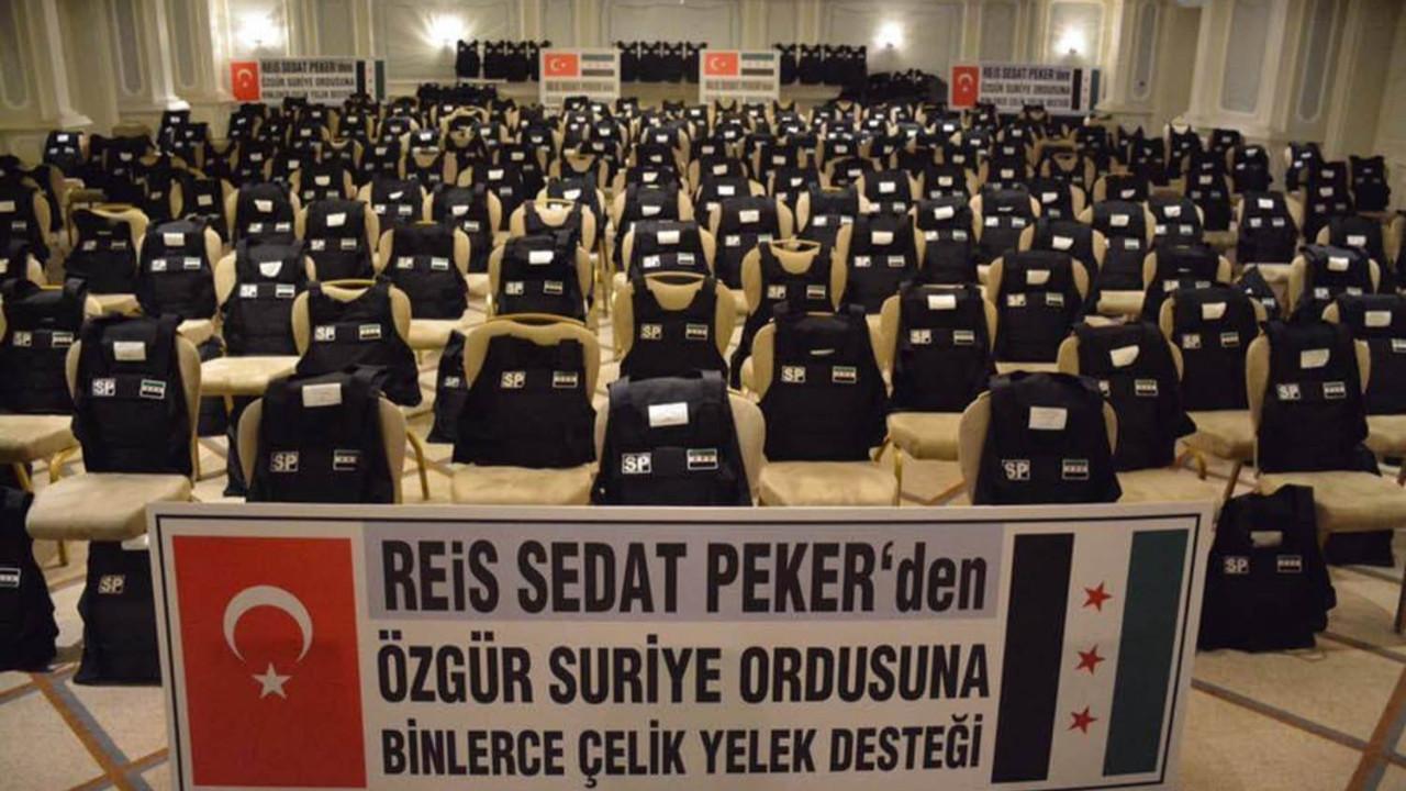 İşte Sedat Peker'in son videosunda bahsettiği Suriye'ye giden o yardımlar