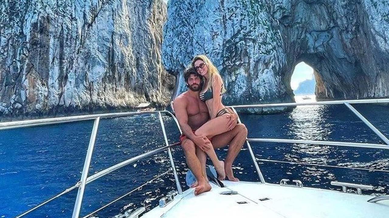 Can Yaman ve Diletta Leotta'nın Capri tatilde sarmaş dolaş