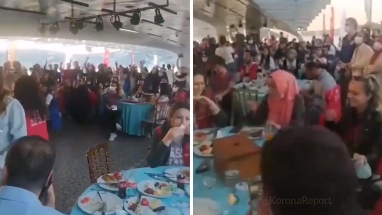 Bakanlık'tan İstanbul'da koronavirüs tedbir ve yasağı tanımayan etkinlik