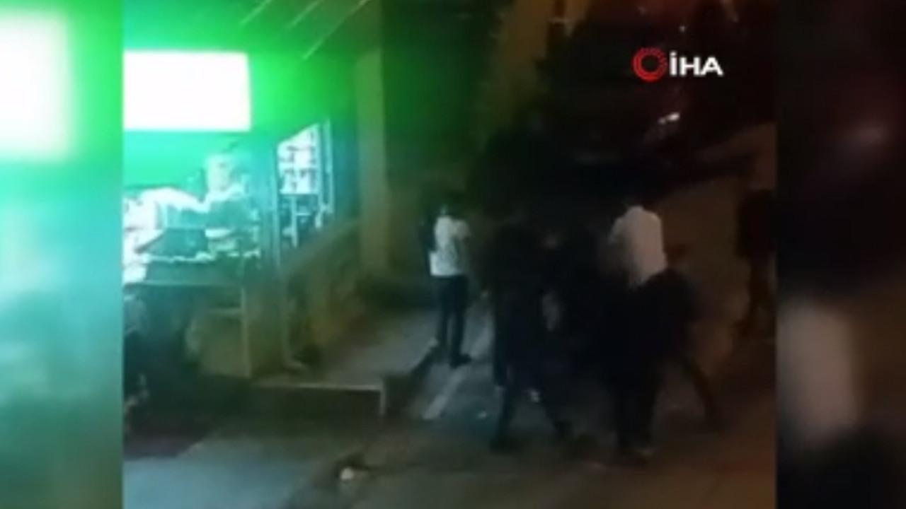 İstanbul'da sokak ortasında ''namus'' dayağı