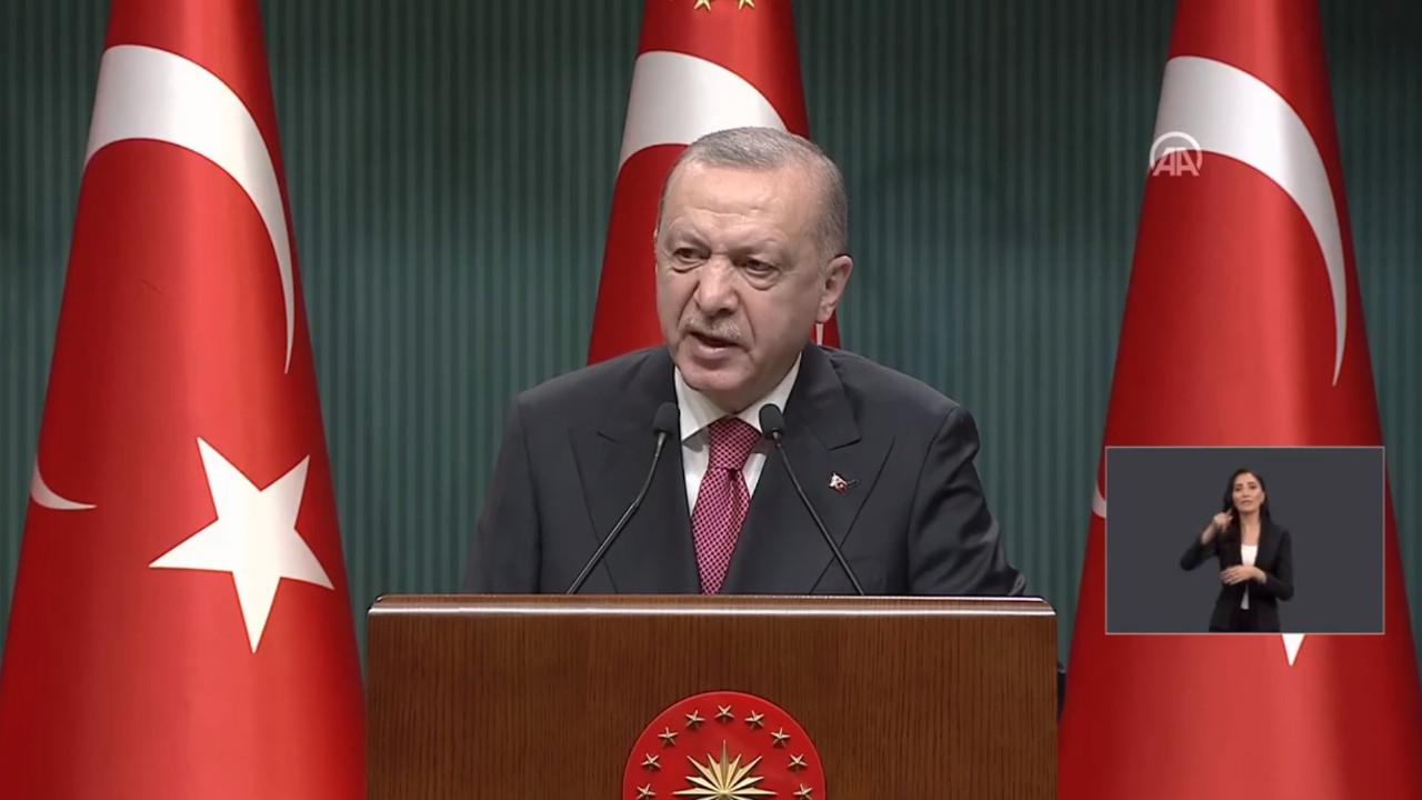 Erdoğan madde madde açıkladı; işte 1 Haziran kararları