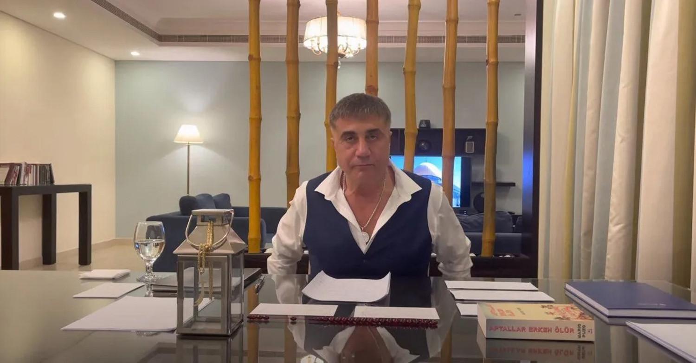 Sedat Peker'in 6 yıl hapsi isteniyor