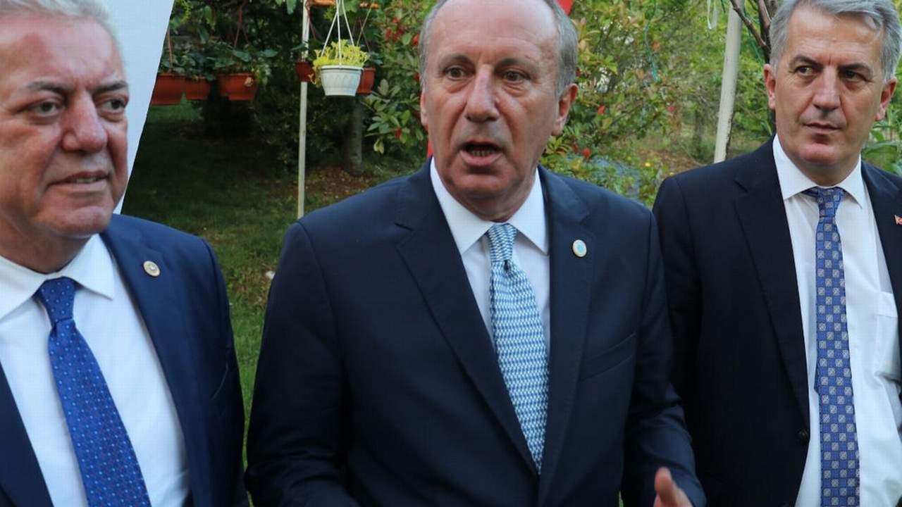 Erdoğan ''yok'' dedi ama... Muharrem İnce'den dikkat çeken iddia