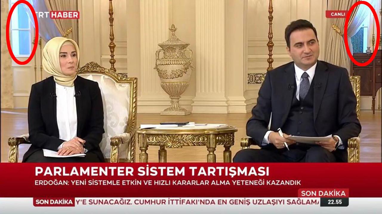 Erdoğan'ın katıldığı ''canlı'' yayınla ilgili olay olan iddia