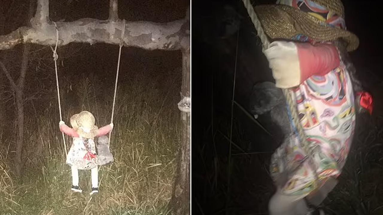 Korku filmi gerçek oldu: Lanetli bebek paniği!