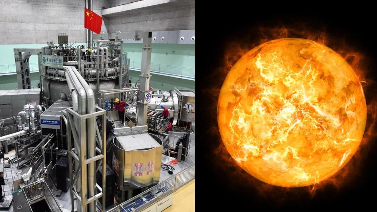 Çin'in yapay güneşi rekor kırdı: Gerçeğinden 10 kat daha sıcak