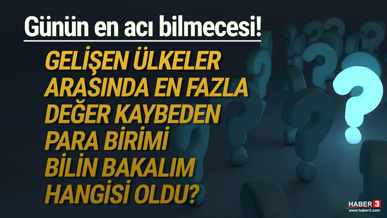 Türk Lirası yine bir rekor kırdı ama bu sefer en olumsuz rekoru kırdı