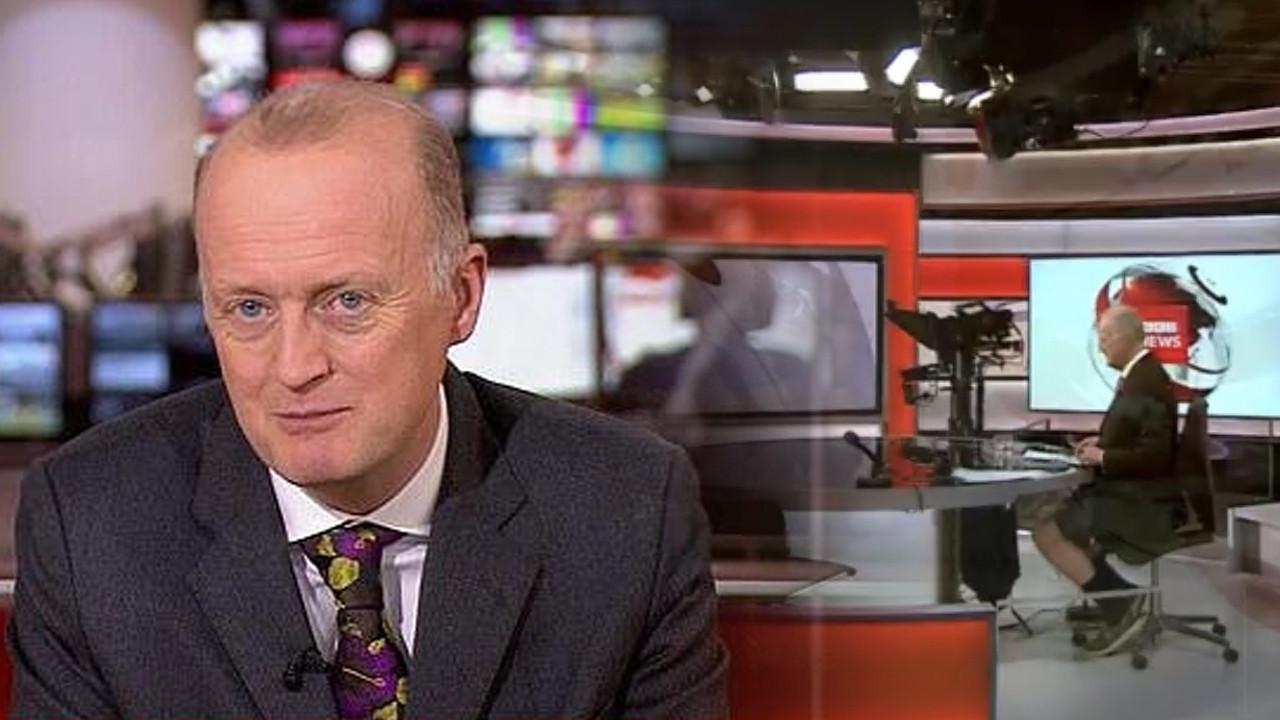 Dünya onu konuşuyor... BBC sunucusu fena yakalandı
