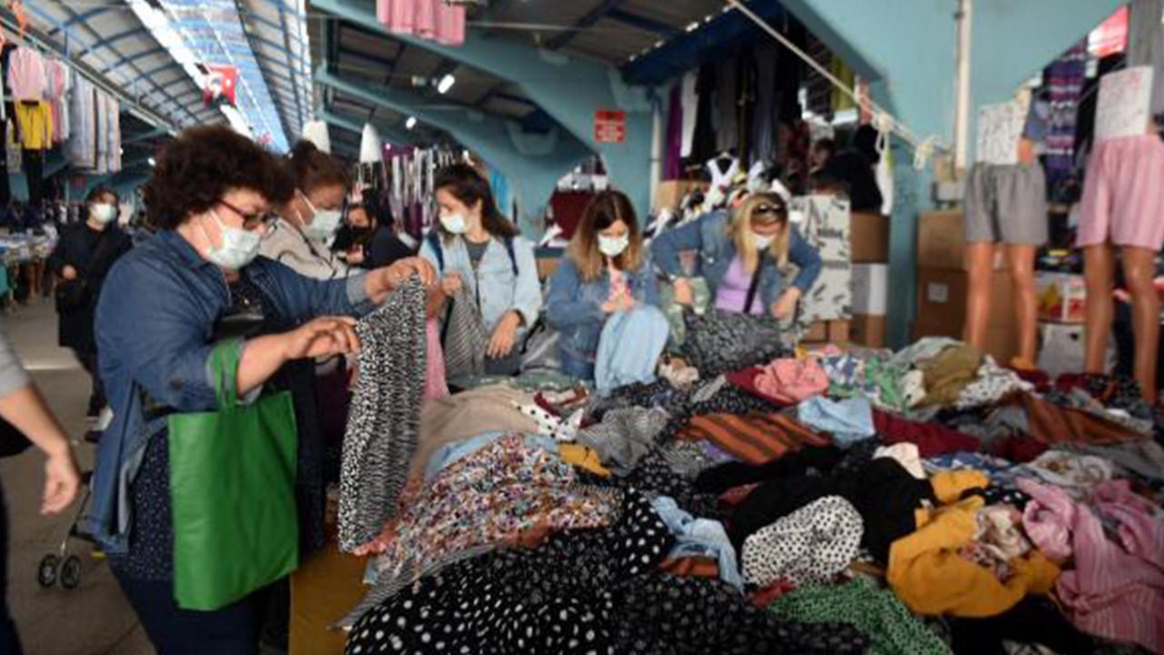 Bulgar ve Yunan turistler alışveriş için Edirne'ye akın etti