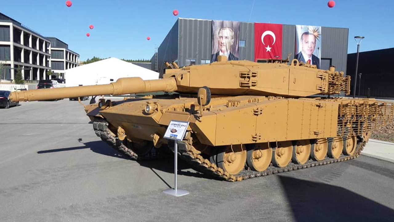 Modernize edilen Leopard 2A4 tankları TSK'nın hizmetinde