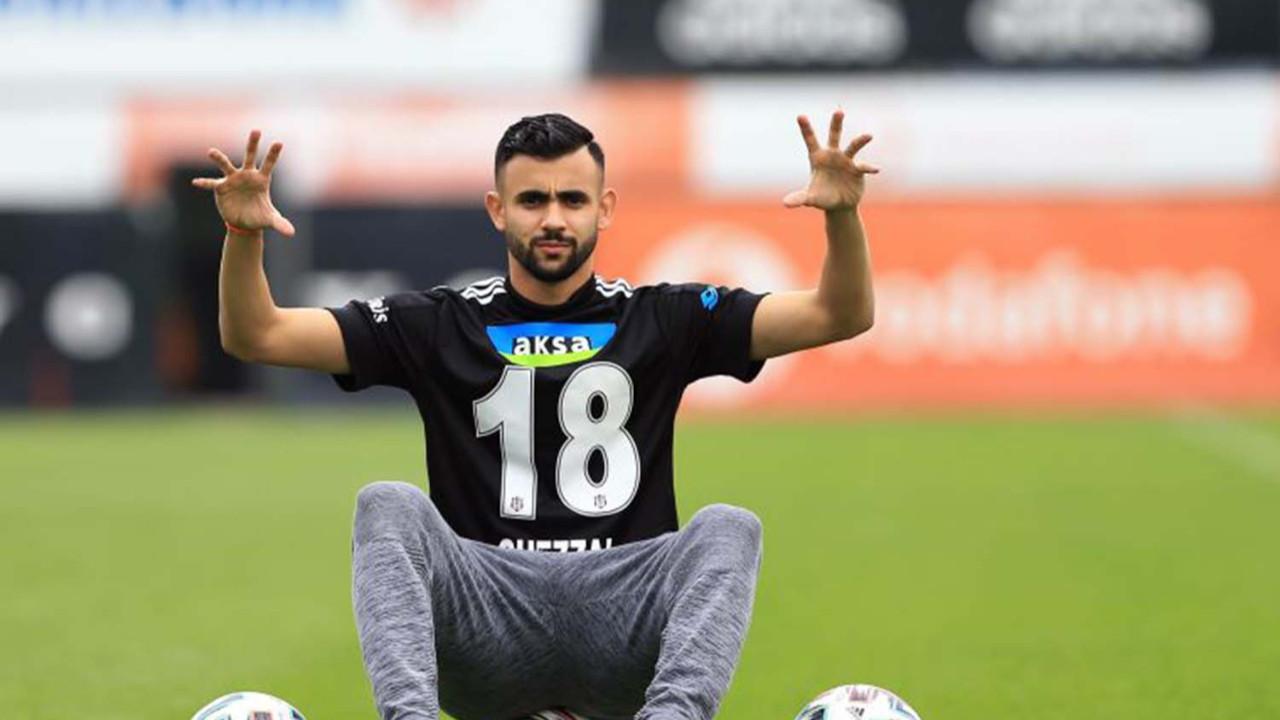 Ghezzal Beşiktaş taraftarına müjdeyi verdi