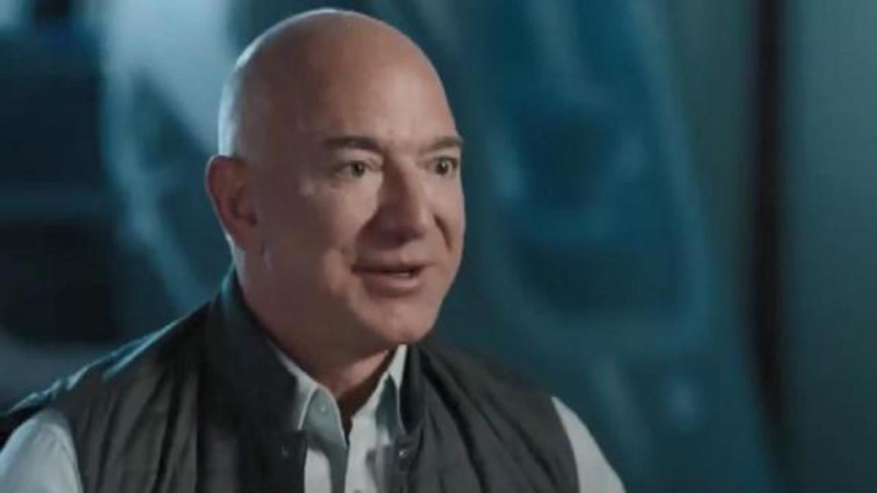 Jeff Bezos, en büyük hayalini gerçekleştiriyor