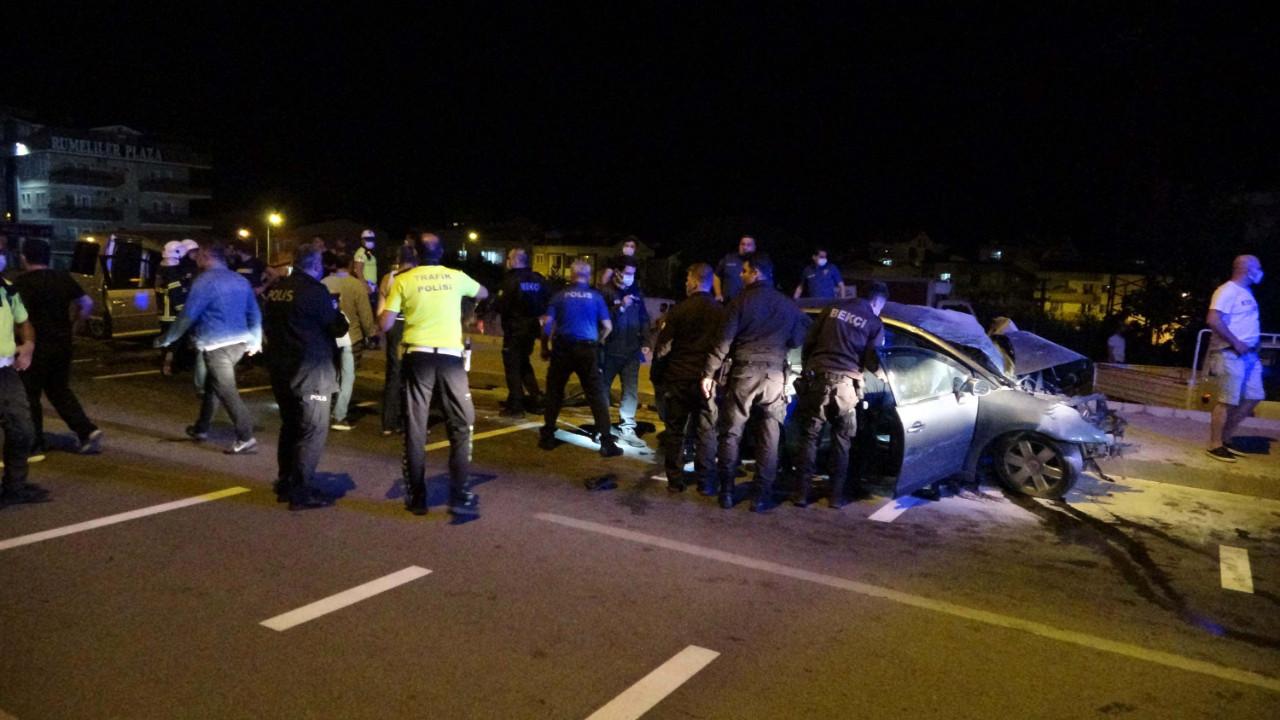 Çanakkale'de kahreden trafik kazası: 2 şehit !