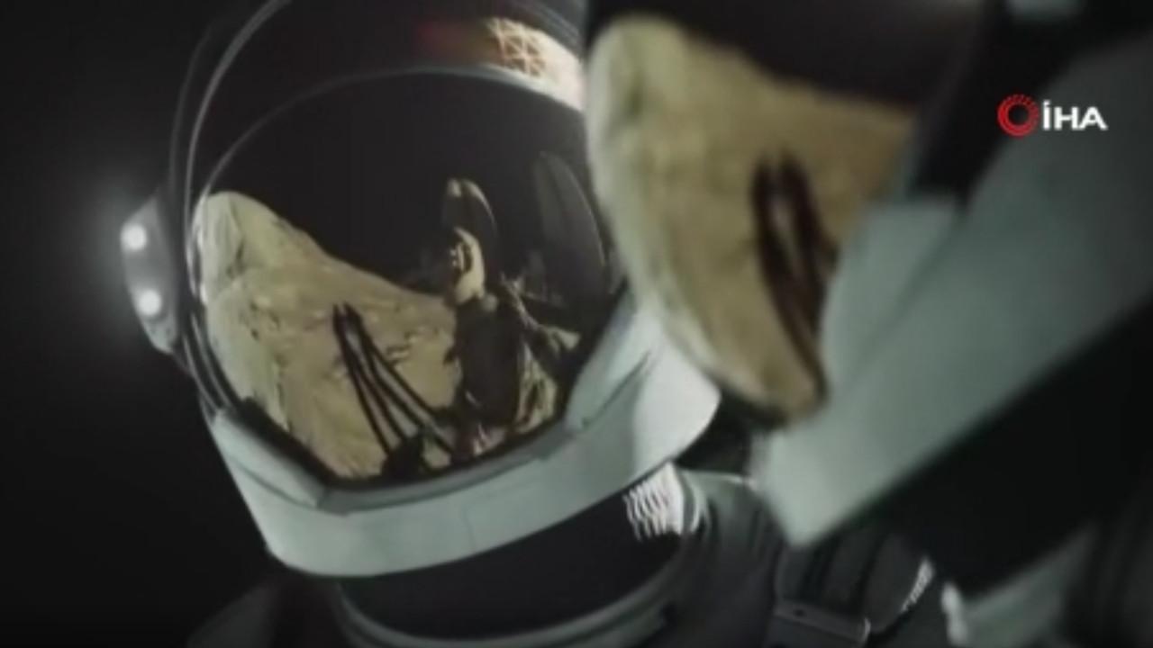 Ay'dan heyecanlandıran paylaşım... Avrupa Uzay Ajansı paylaştı!