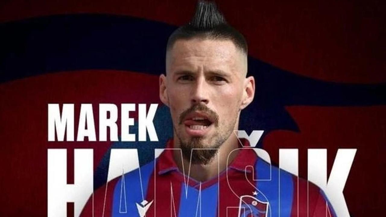 Trabzonspor, Marek Hamsik'i resmen duyurdu