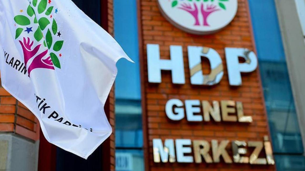 HDP'den iddianame kararına ilk tepki