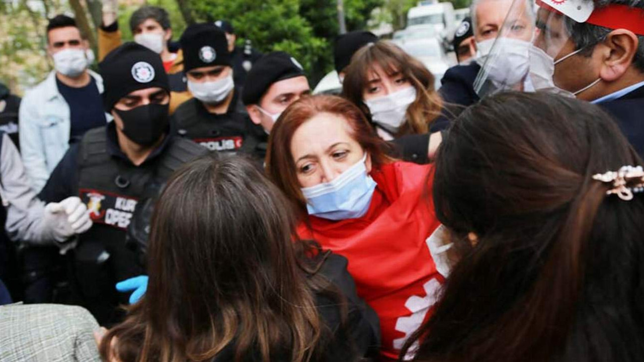 Taksim'e çıkmak isteyen 15 DİSK'liye dava