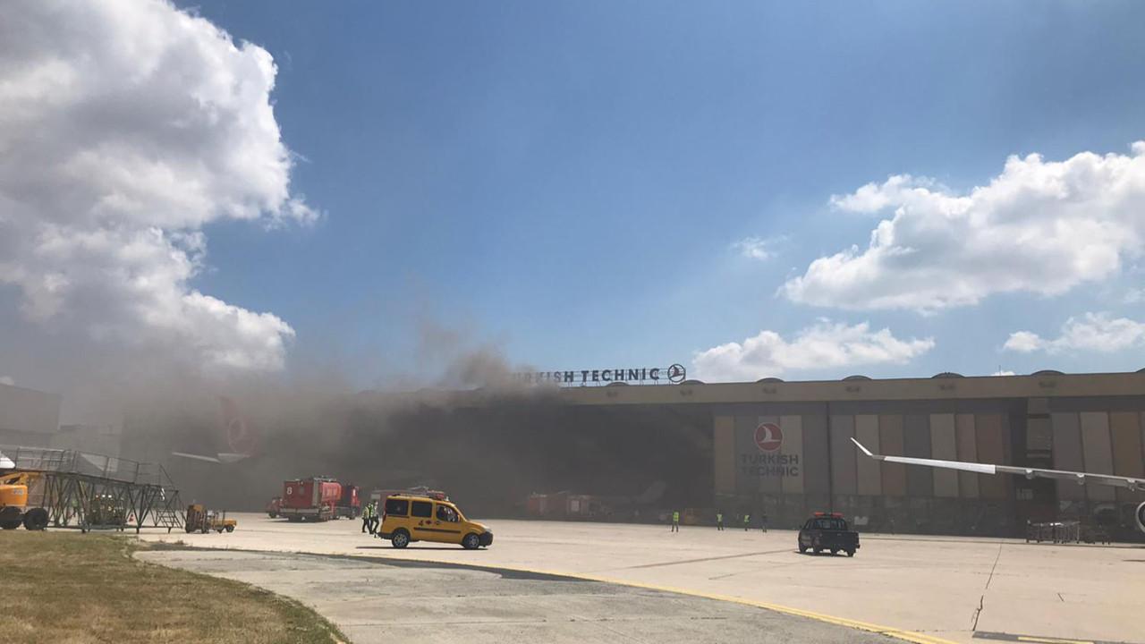 Atatürk Havalimanı'nda korkutan patlama