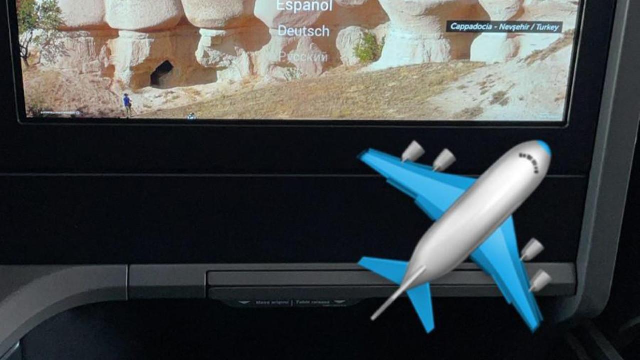 Oussama Tannane uçaktan paylaştı; İstanbul'a geliyor!