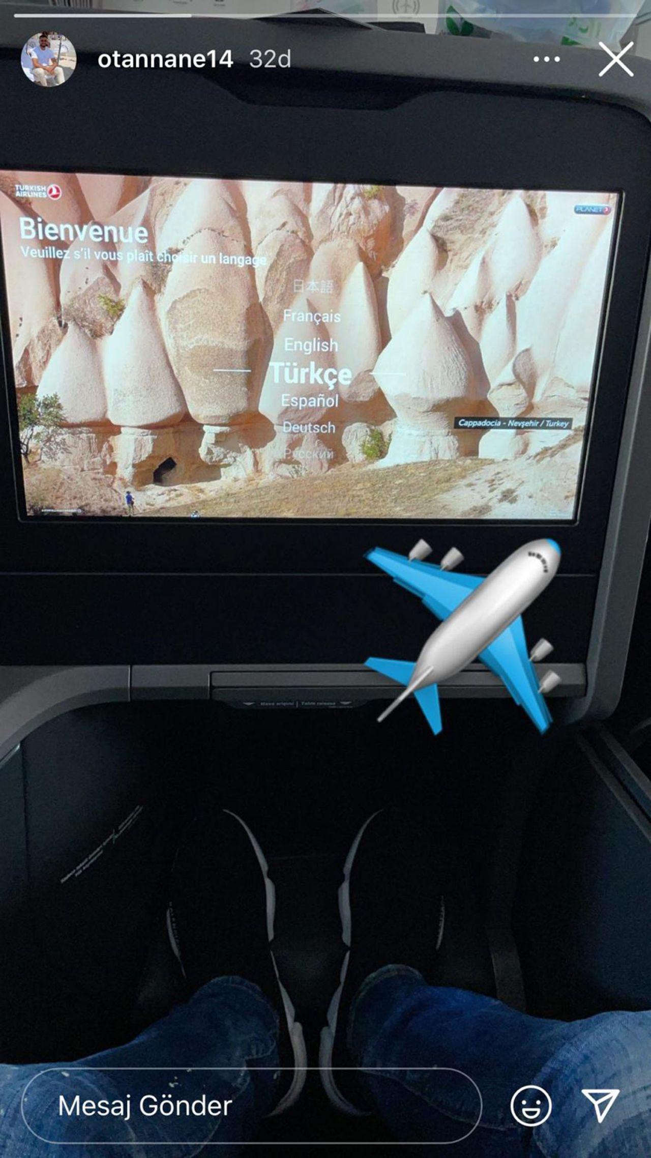Oussama Tannane uçaktan paylaştı; İstanbul'a geliyor - Resim: 3