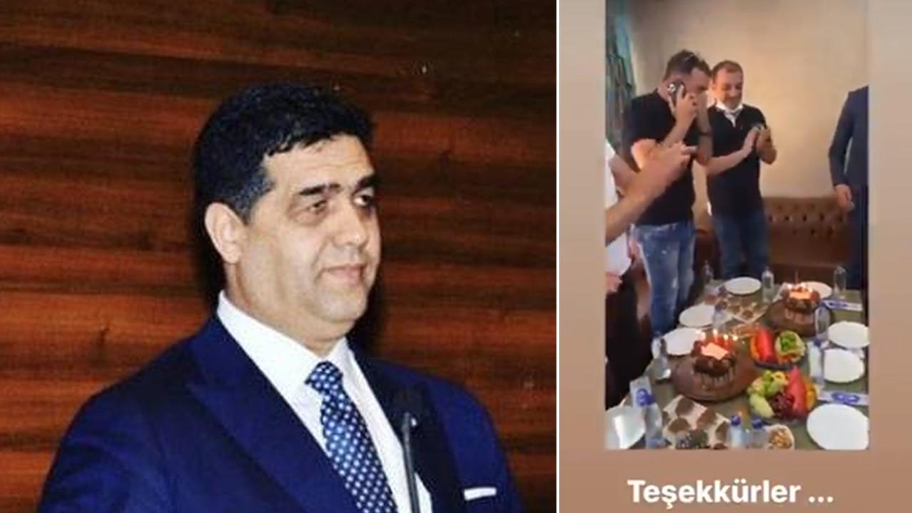 ''Hakim Esat Toklu, patronun doğum günü partisine katıldı'' iddiası