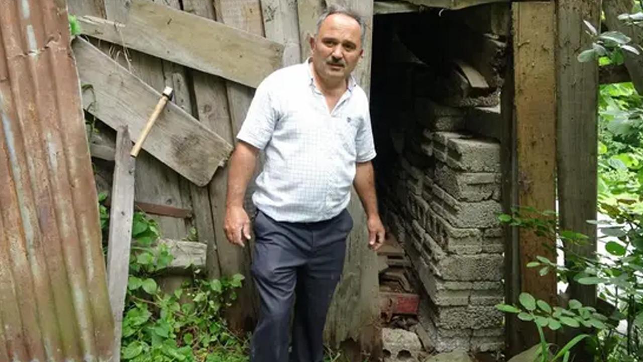 Çocuklarından korkup 42 yıl önce garaja kilitledi, bir kere bile dışarı çıkartmadı