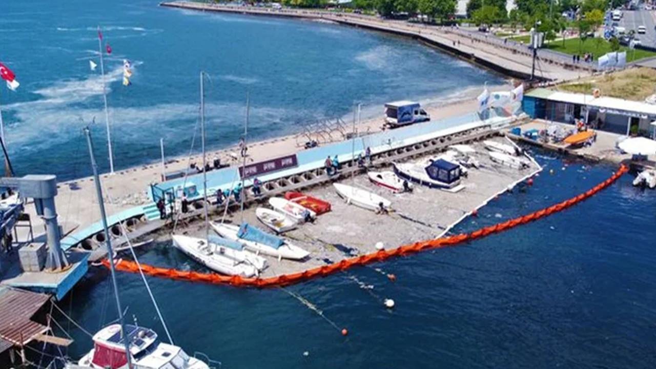 Müsilaj temizliği: Caddebostan Sahili maviye kavuşuyor