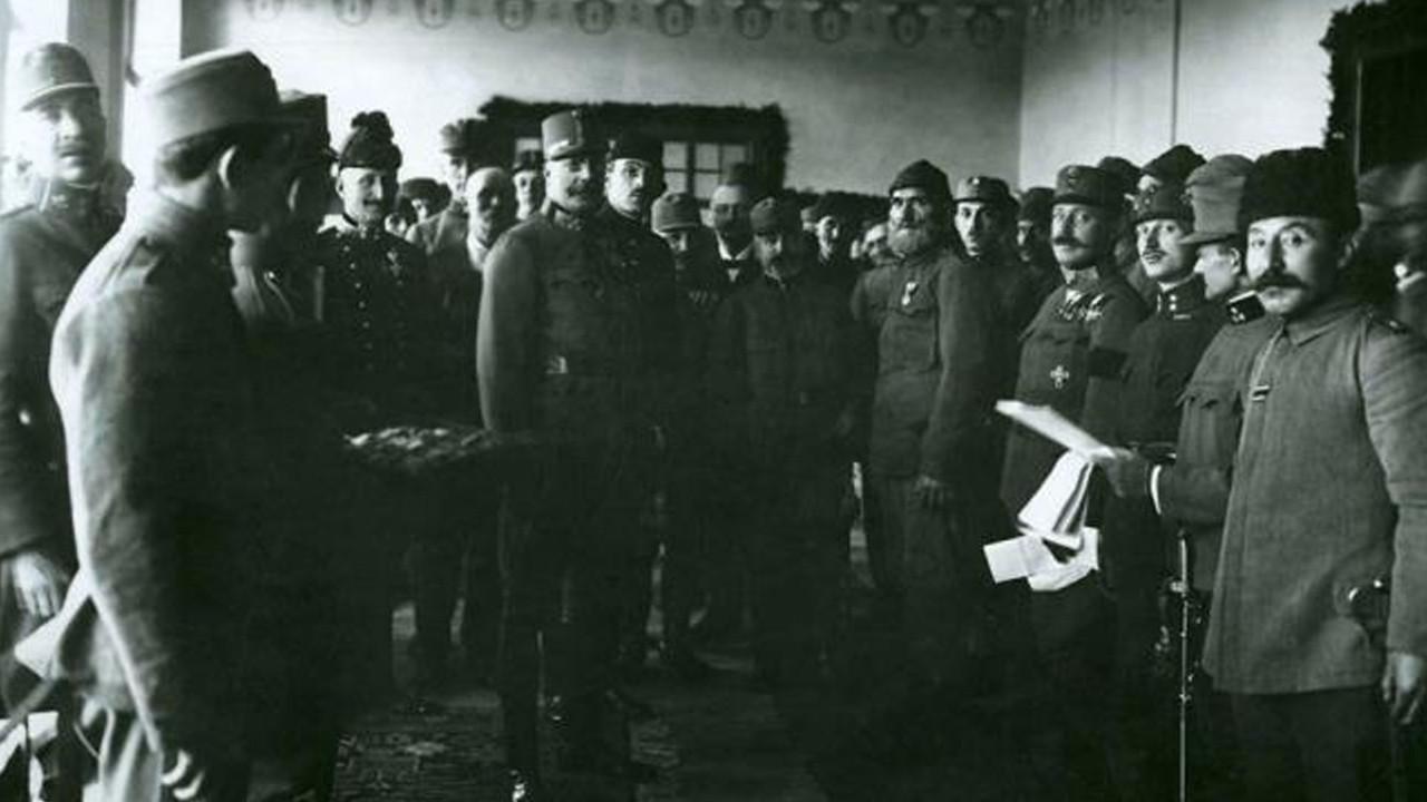 104 yıl sonra ortaya çıktı: İşte Türk askerlerinin duygulandıran fotoğrafları