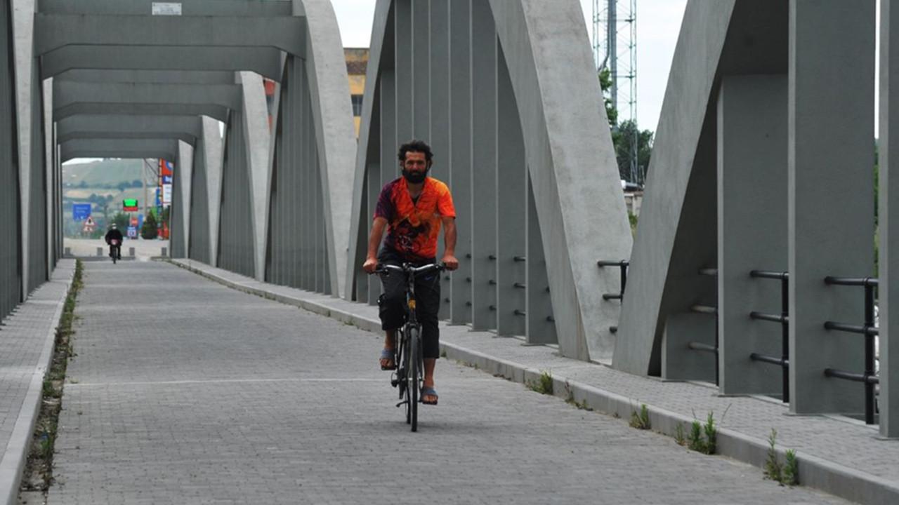 Türkiye'yi tam kez 5 kez pedalladı